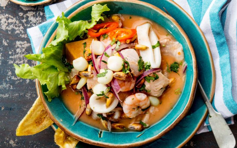 ecuadorian ceviche - Ecuador Food