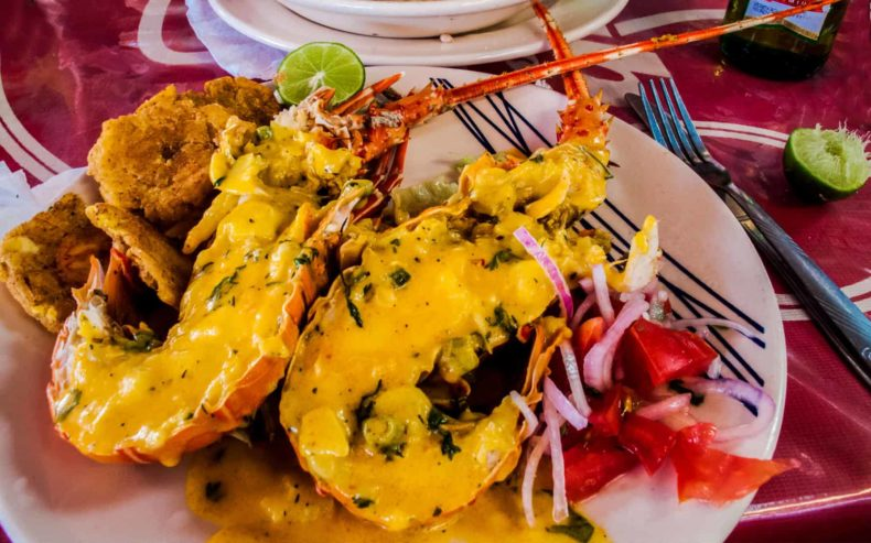 sea food - Ecuador Food