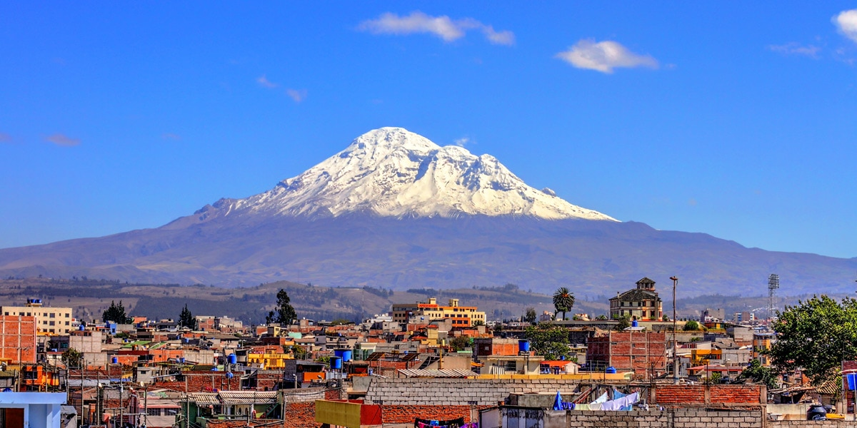 mount chimborazo one of the best things to do in ecuador