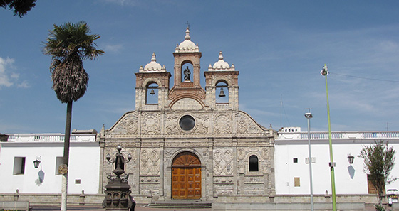 San Pedro Cathedral in Riobamba