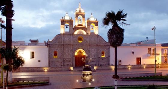 Praça Vermelha de Riobamba