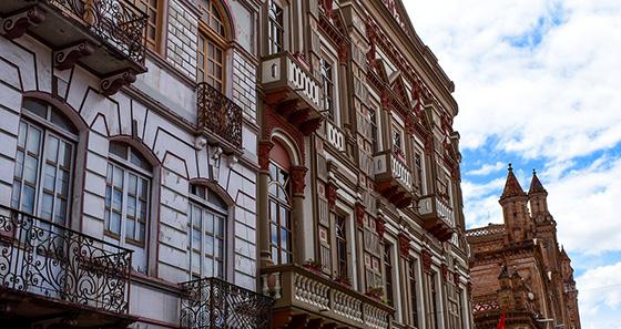 Arquitectura Colonial en Cuenca Ecuador