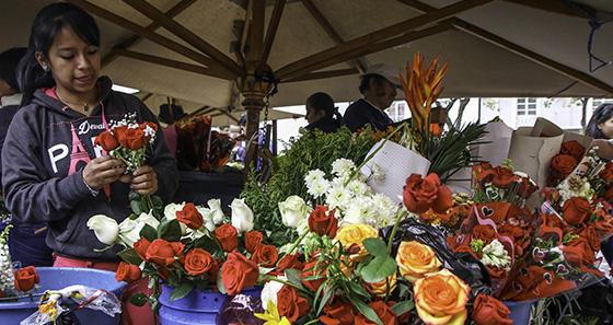 Mercado de Flores - Cuenca Ecuador