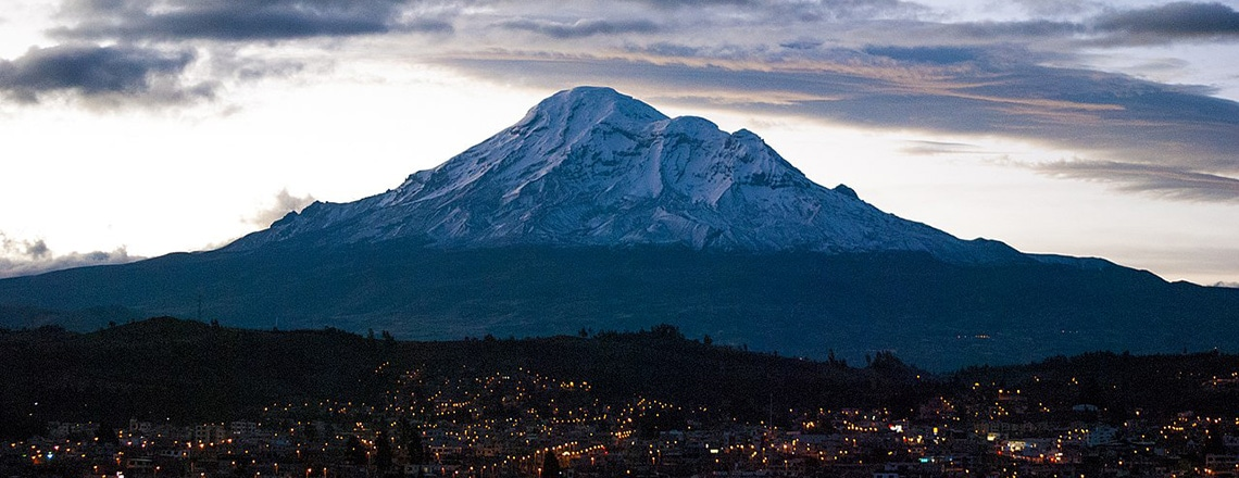 How to get to Riobamba Ecuador