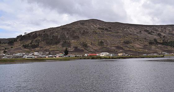 colta lagoon - riobamba
