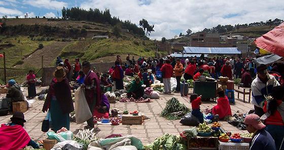 mercado feira - Riobamba Equador