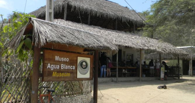 comuna agua blanca - equador