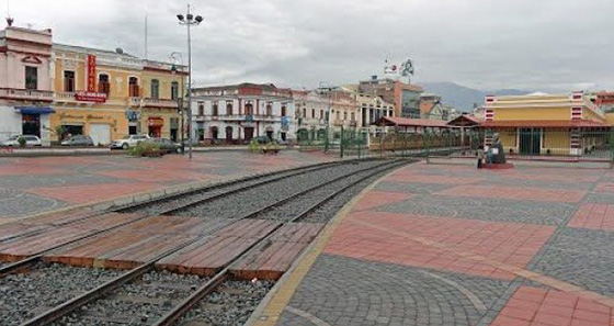 Praça Alfaro - Riobamba