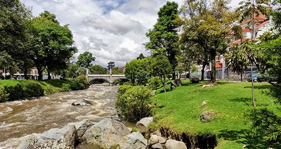 river - Cuenca Ecuador