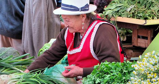 mercados tradicionales - Cuenca Ecuador
