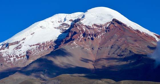 Chimborazo Volcano in Riobamba, Ecuador