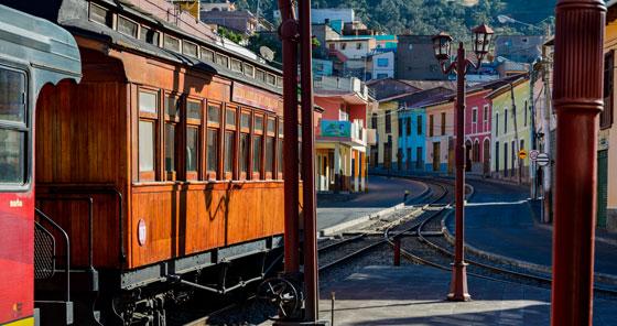 Tren de Alausí en Ecuador