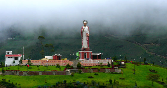 San Pedro Alausí en Ecuador
