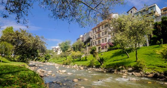 Rivière de Cuenca, en Équateur