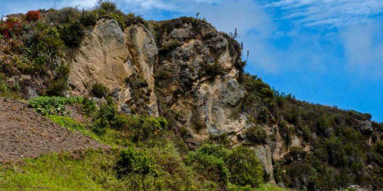cara del inca ruins ecuador