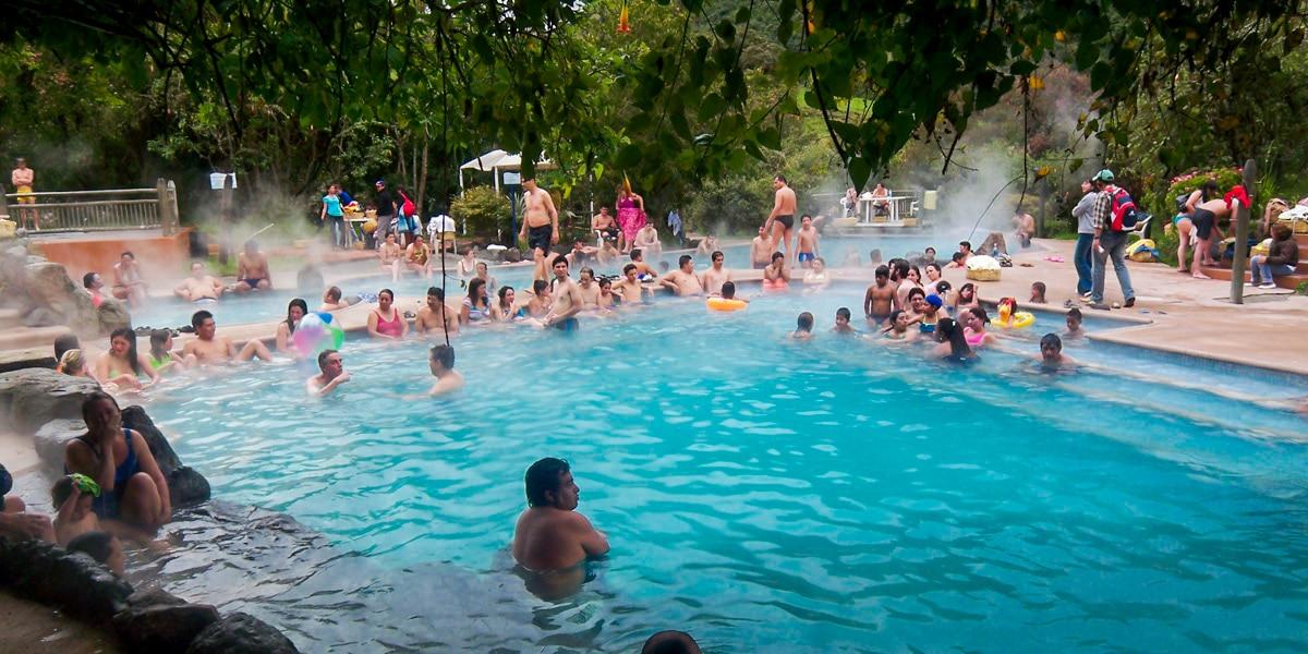 Papallacta hot springs quito