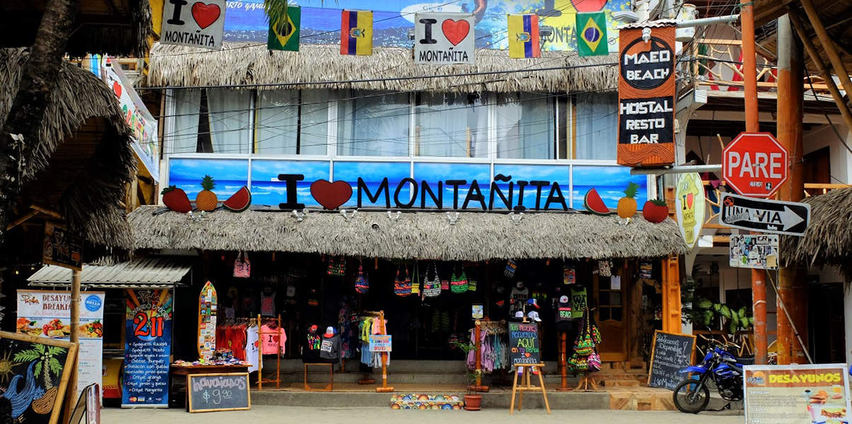 montañita night life